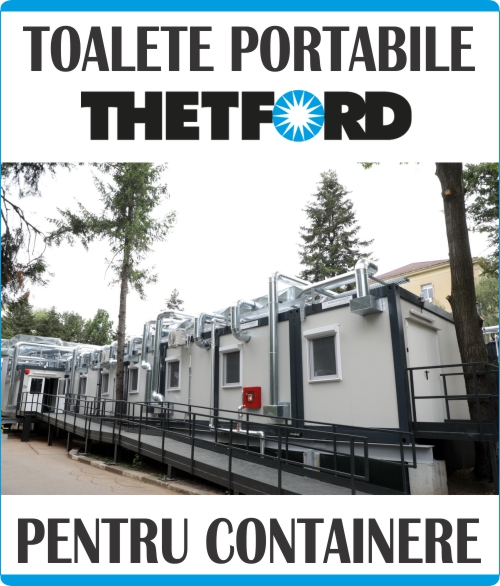 Toalete portabile containere