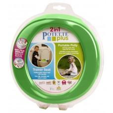 Olita portabila pentru copii, Potette Plus verde