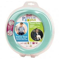 Olita portabila pentru copii, Potette Plus turquoise