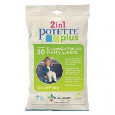 Set 30 pungi unica folosinta pentru olita portabila Potette Plus