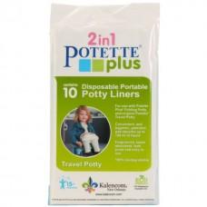 Set 10 pungi unica folosinta pentru olita portabila Potette Plus