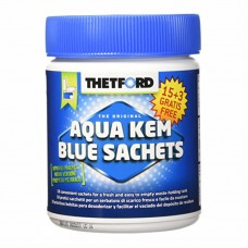 Saculeti descompus reziduuri AQUA KEM BLUE 15 buc.+3 buc. GRATIS - editie limitata