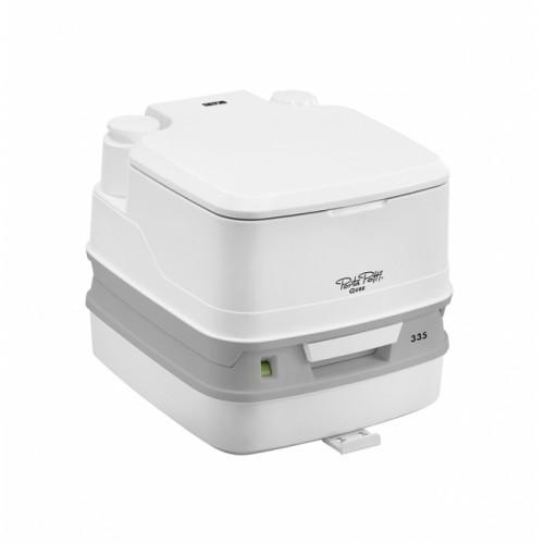 Toaleta portabila rulote, santiere, batrani, containere, corturi triaj, adaposturi ALA, Thetford Porta Potti 335 + Kit de blocare