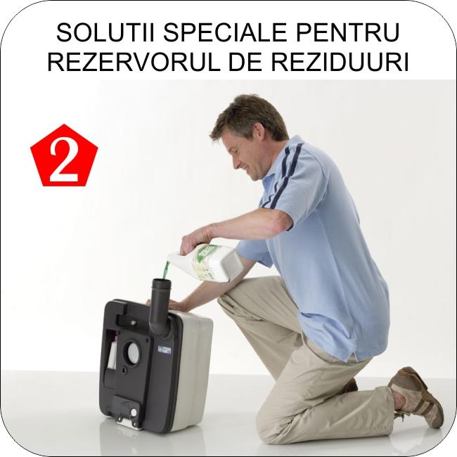 Toalete portabile Thetford Porta Potti  - Pas 2