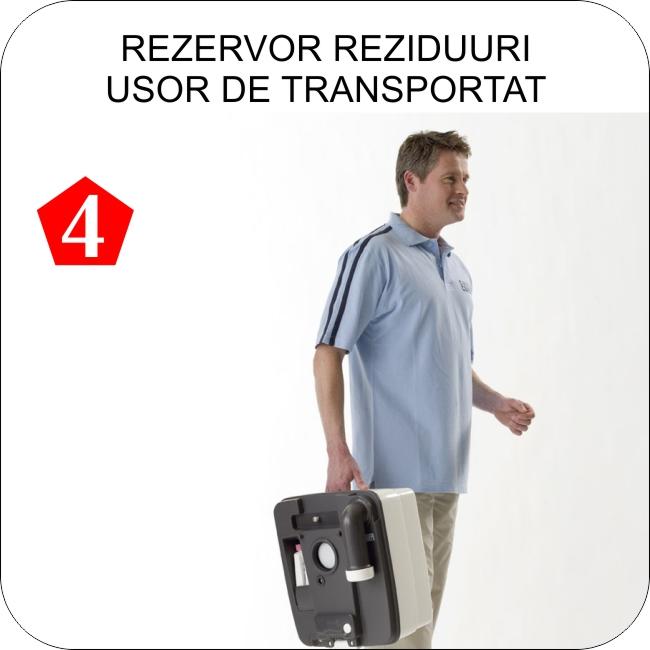 Toalete portabile Thetford Porta Potti  - Pas 4